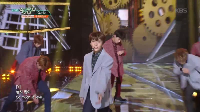 뮤직뱅크 Music Bank - Genie - 골든차일드(GoldenChild).20181116