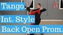 Int. Tango Silver Level - Back Open Promenade