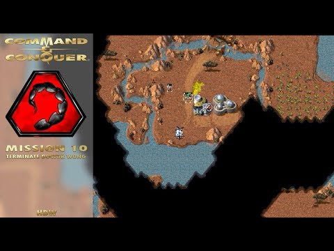Command Conquer Tiberian Dawn - Nod Mission 10 - Terminate Doctor Wong (Angola) [720p]