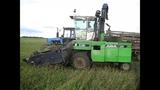 МТЗ-1221 и MARAL-125 (Е-281). Скашивание травы.