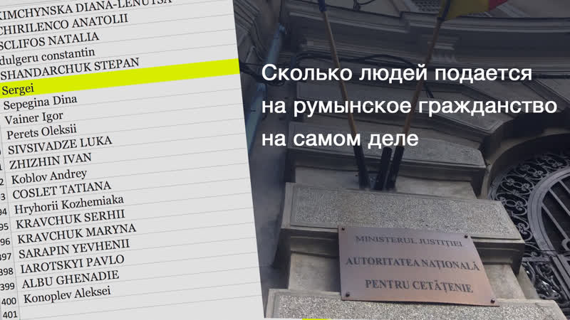 24 Сколько людей подаётся на румынское гражданство на самом деле