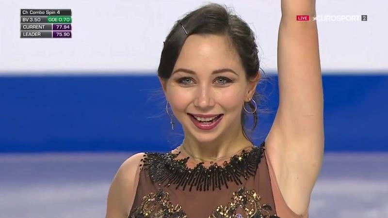 Elizaveta TUKTAMYSHEVA .FS - Grand Prix Final 2018 (B.ESP)