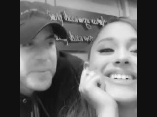 Новое видео из Инстаграма Ари. Паблик; sunshine Ariana.