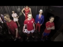 Bale pranks visitors at the wax museum in Madrid