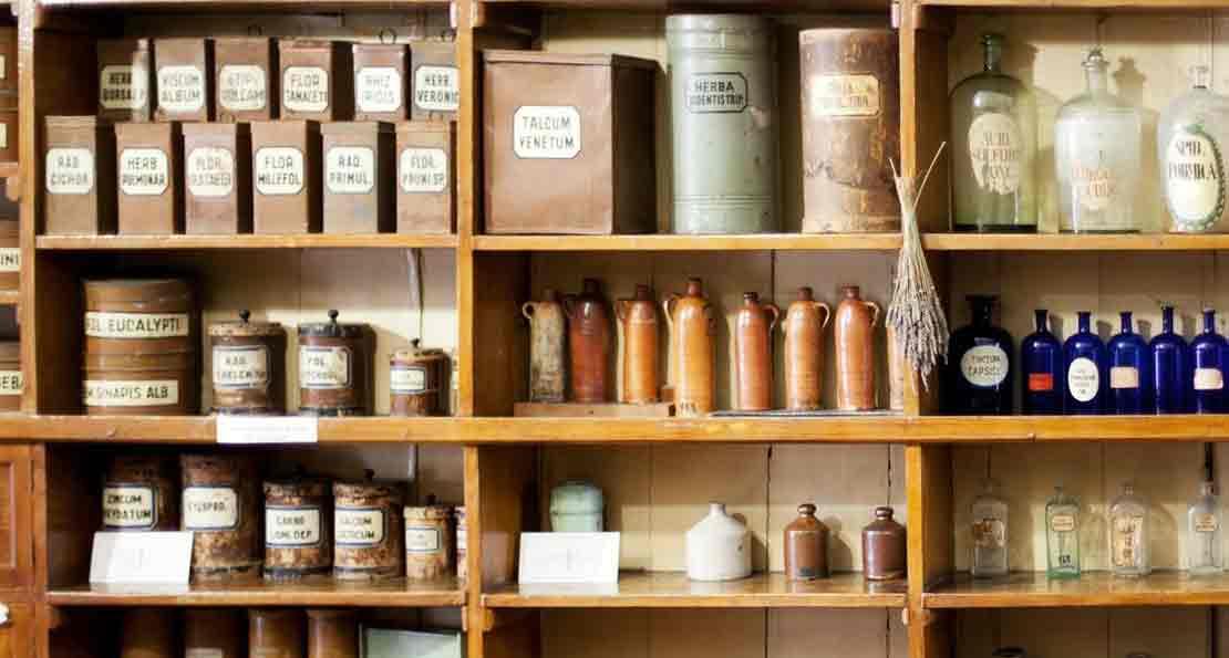Аптека в прошлом