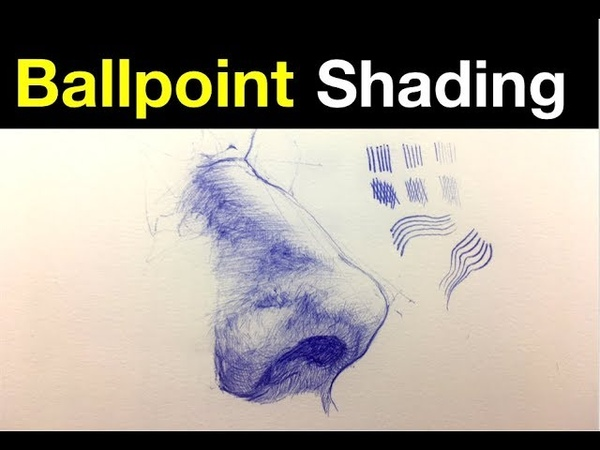 Simple Line Exercises Ballpoint Pen Shading Tips Pt 3