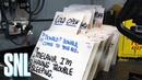 Creating Saturday Night Live: Cue Cards - SNL