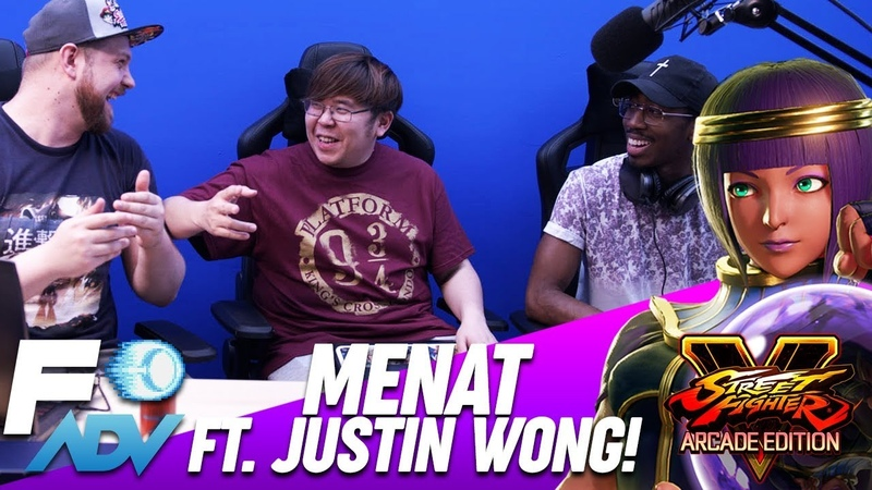 Menat: The Lab JUSTIN WONG Special Guest! Street Fighter V Arcade Edition