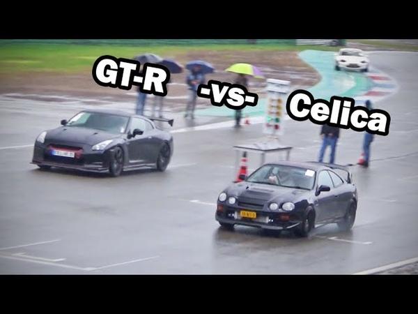 Toyota Celica GT-Four -vs- Nissan R35 GT-R -vs- Lexus GS450h
