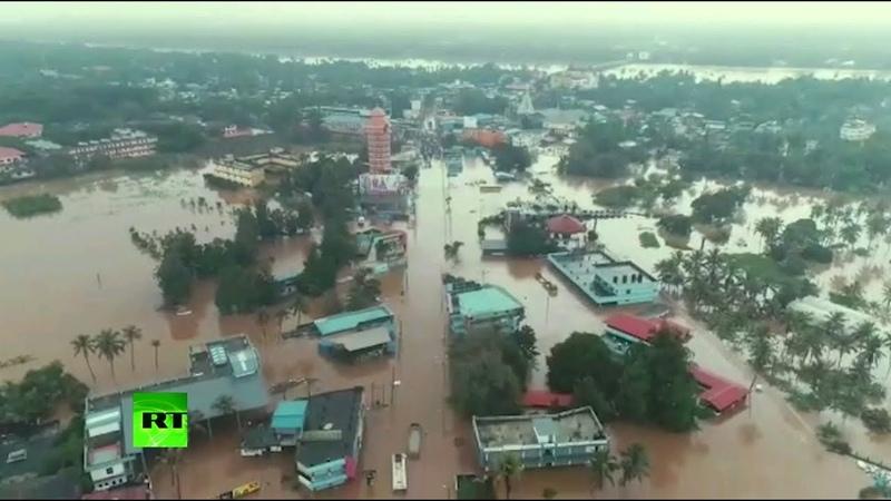 Наводнение в Индии жертвами стихии стали более 300 человек