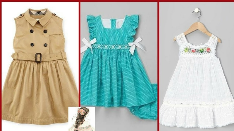 Baby Cotton Frock DesignStylish Cotton Frocks DresessKids Cotton Frocks Design
