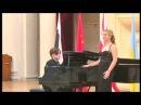 E.Granados, La maja y el ruiseñor.Natalia Kuchina(soprano), Aleksandr Strahov (piano)