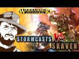 FFH Играем Stormcast VS Skavens Age of Sigmar Warhammer