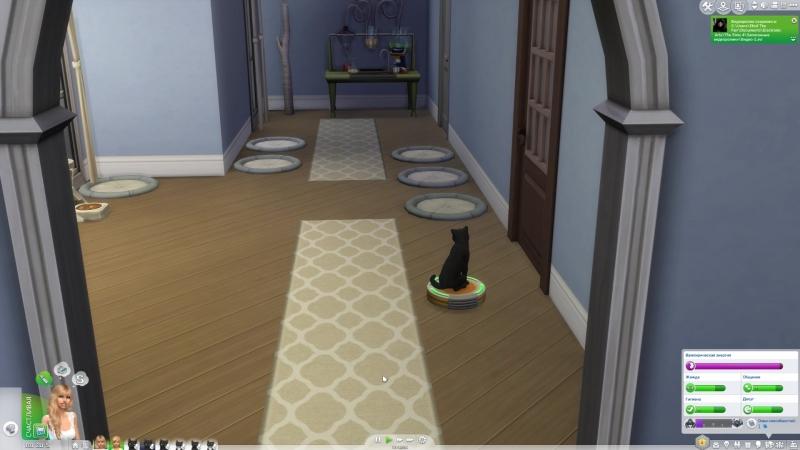 Sims 4 робот-пылесос :D