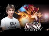 Na`Vi Dendi - Invoker (MMR Gameplay)