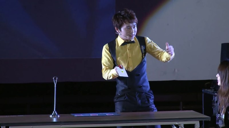 FISM 2012 CARD MAGIC 3rd prize winner - Jeki Yoo - Full act (with mandarin)