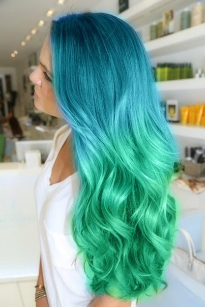 Разноцветные волосы картинки - 46