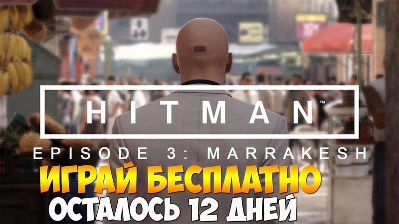 Hitman - Episode 3 Marrakesh ► У тебя 12 дней, чтобы сыграть бесплатно!