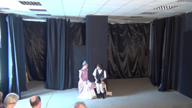 актерский отрывок из пьесы А.Н.Островского Женитьба Бальзаминова
