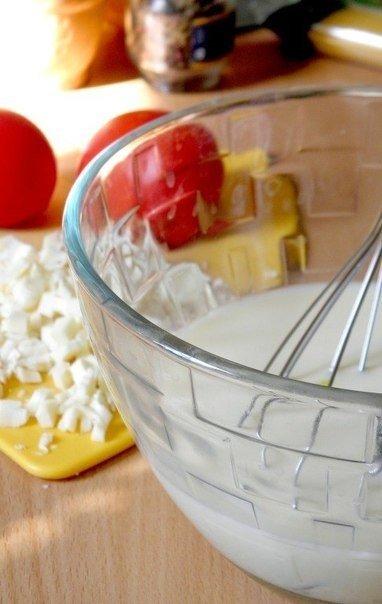 Пирог из спагетти Ингредиенты: Молоко — 250 мл Яйца крупные