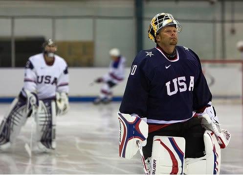 Тим Томас самый опытный игрок сборной США