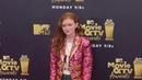 Sadie Sink at the 2018 MTV Movie And TV Awards at Barker Hangar in Santa Monica