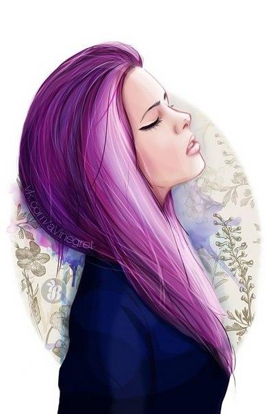 Картинки девушки брюнетки без лица на аву с короткими волосами - 37c9a