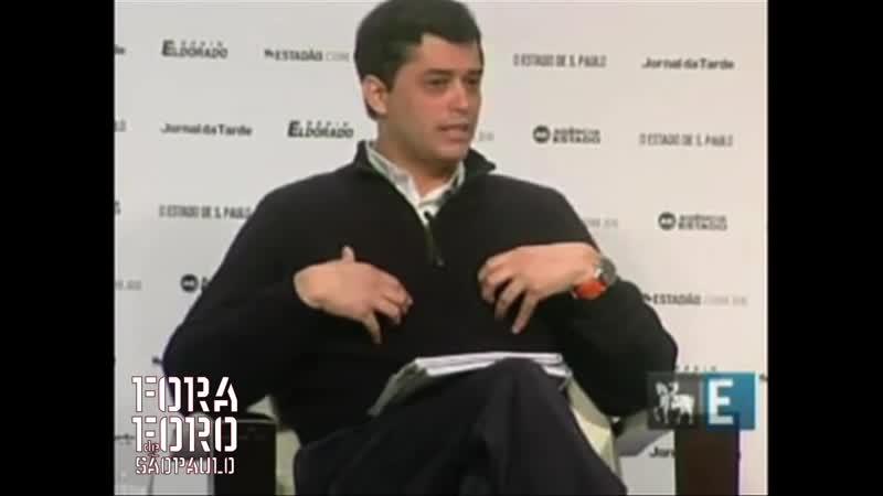 Dep Indio da Costa fala sobre o PT FARC e Foro de Sao Paulo