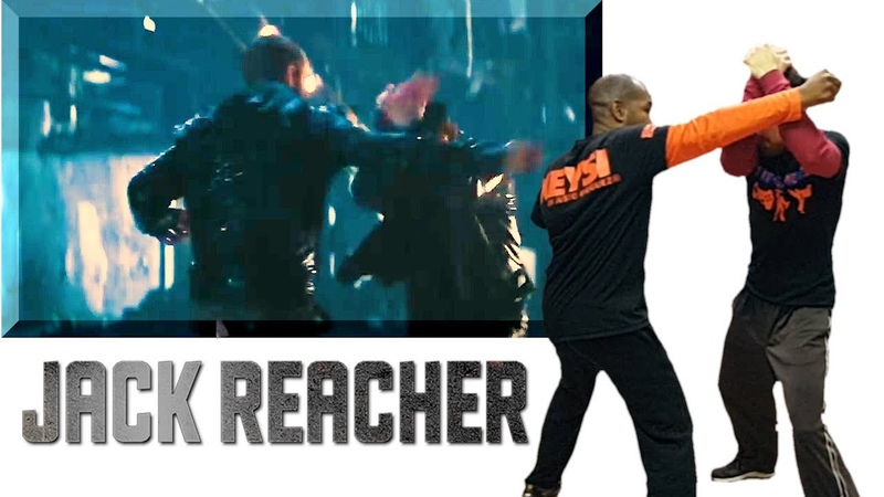 JACK REACHER Fighting Style Keysi Fighting Method