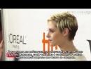 Интервью Кристен Стюарт и Лоры Дерн для Etalk на премьере JT Leroy русс суб