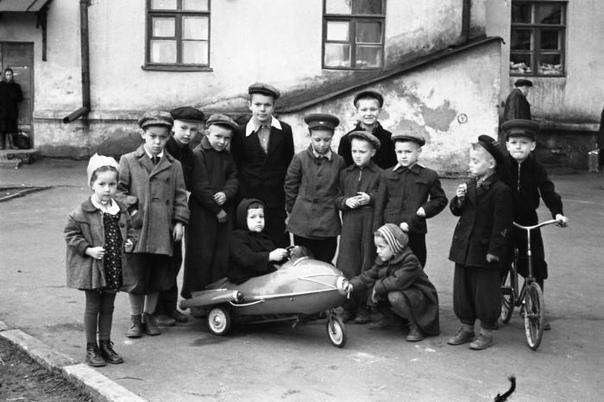 Мажор и завистники. 1958гКостромаСССР