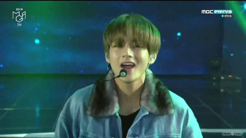 181106 BTS 방탄소년단 Save ME I'm Fine IDOL 2018 MGA