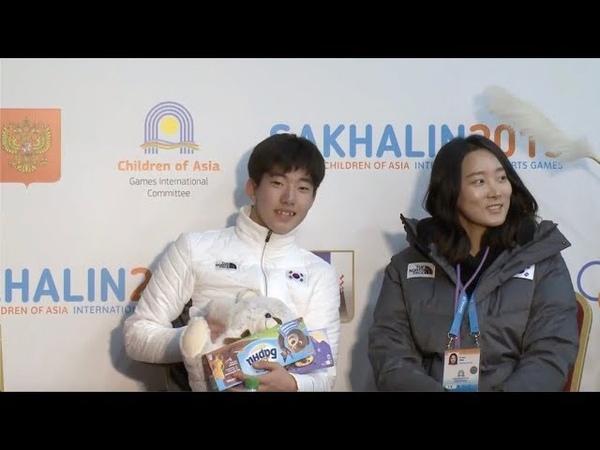 [64.39] 차영현 Younghyun CHA (KOR) - I Winter Children of Asia Games Junior Men - SP - 14.02.19