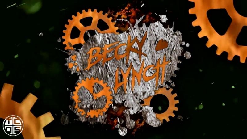 Becky Lynch 2018 Titantron (Heel) _ Celtic Invasion (WWE Custom)