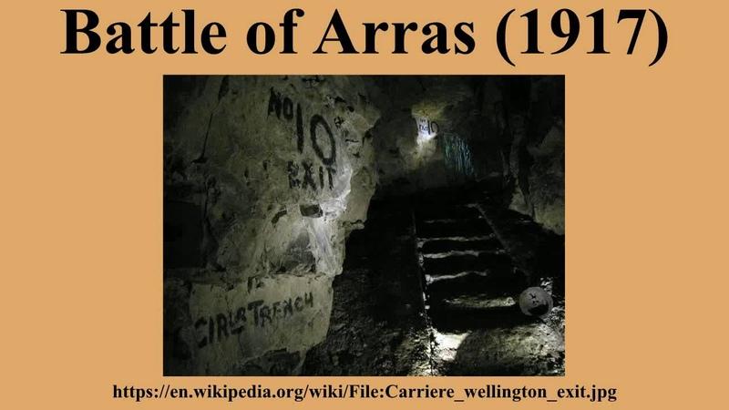 Battle of Arras (1917)