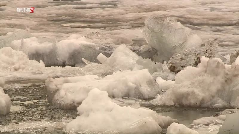 Ледоход на реках Якутии проходит в штатном режиме