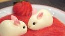 Bunny Panna Cotta Strawberry Recipe パンナコッタ レシピ