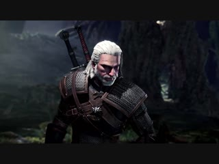 Monster Hunter World x The Witcher 3 Wild Hunt - Available Now ¦ PS4