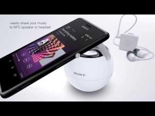 Sony представляет новый смартфон Xperia M