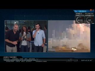 Сделано Человеком. Моменты старта и посадки SpaceX Falcon 9