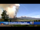 Evacuation, Pre-Evacuation Orders Lifted For Some 416 Fire Residents