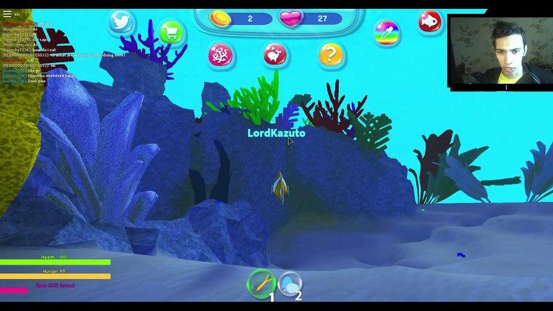 Играем за РЫБУ В РОБЛОКСЕ ROBLOX FISH SIMULATOR