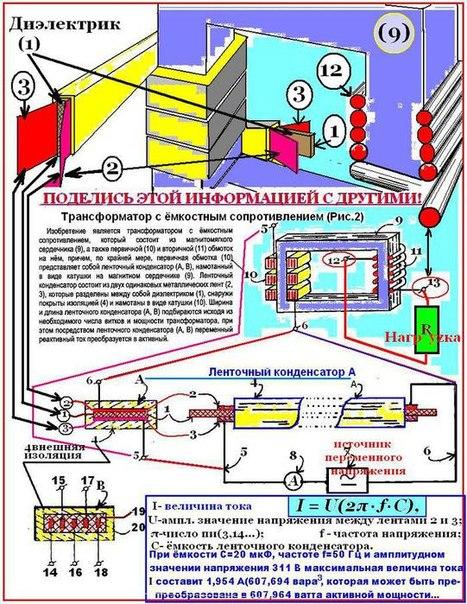 Емкостной трансформатор