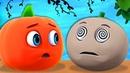 Cinco Frutitas Saltando - Canciones Infantiles | A Bebés Contentos