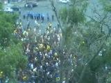 патриоты  в Харькове шатаются по городу в поисках военкомата (02-08-2014)