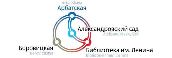 Студия Лебедева представила доработанную схему метро.  Изображение 2.
