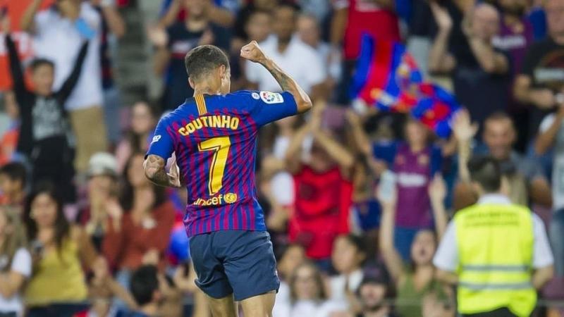Основные моменты: Барселона - Алавес