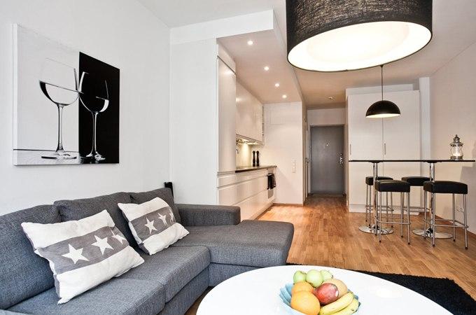 Квартира-студия 36 м в Стокгольме / Швеция - http://kvartirastudio.