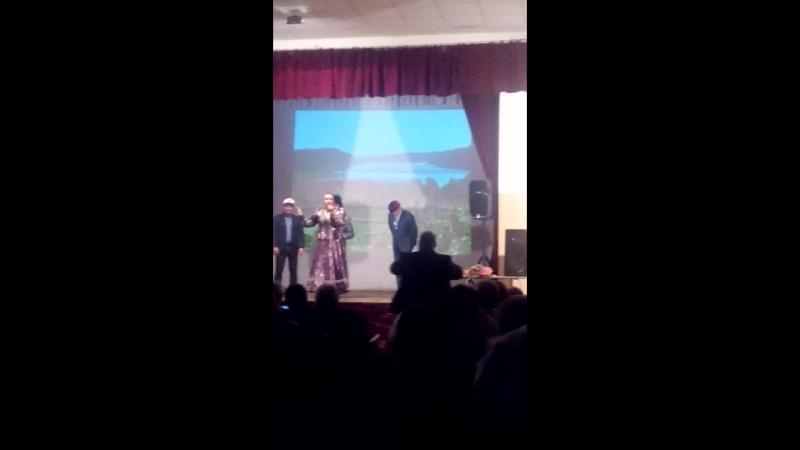 Алла Сумарокова Концерт на сцене Заостровского ДК Фрагмент