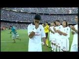 Homenaje a Ronaldinho Camp Nou Agosto 2010